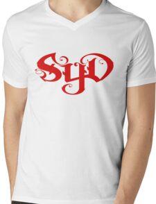 SYD in red Mens V-Neck T-Shirt