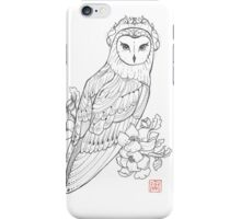 Royal Owl - Tattoo iPhone Case/Skin