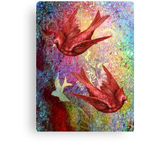 CARDINAL FLIGHT Canvas Print