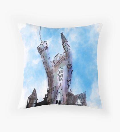The Salvation Army Citadel, Castlegate Aberdeen Throw Pillow
