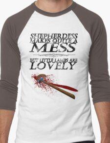 Little Lambs Men's Baseball ¾ T-Shirt
