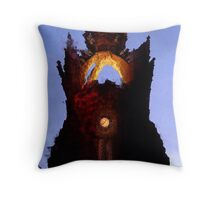 Kings College, Aberdeen Throw Pillow