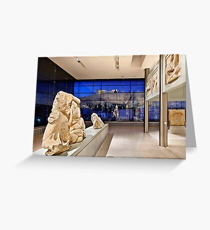 The New Acropolis Museum Greeting Card
