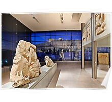 The New Acropolis Museum Poster