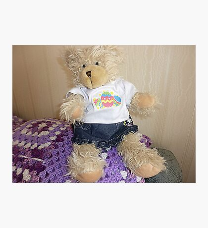 Buffy Bear - a ragged look is the fashion* Photographic Print
