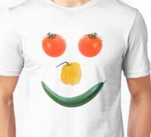Smiley salad face Unisex T-Shirt