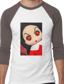 Evil Rag Doll Men's Baseball ¾ T-Shirt