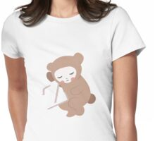 Waiting for Z Womens Fitted T-Shirt