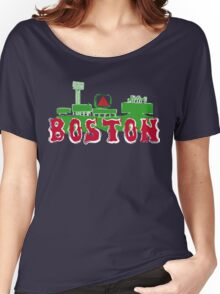 Boston Red Sox Fenway Park Women's Relaxed Fit T-Shirt