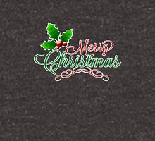 Merry Christmas with Holly Unisex T-Shirt