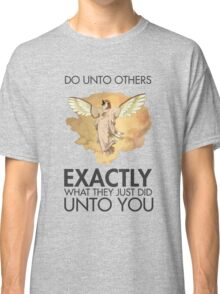 Twitch Plays Pokemon: Do Unto Others - Light with Dark Text Classic T-Shirt