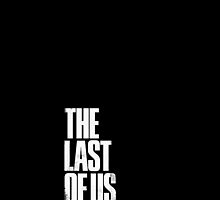 The Last of Us Logo Corner (Black) by TwinMaster