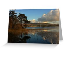 Lough Eske Scene Greeting Card