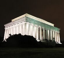 Lincoln Memorial by canvasandstyle