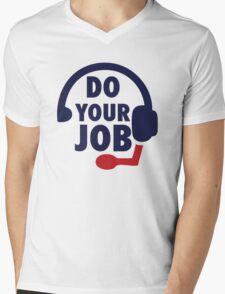 Bill Belichick - Do Your Job Mens V-Neck T-Shirt