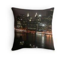 Nite Nite NYC Throw Pillow