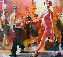 Gente per strada by Alessandro Andreuccetti