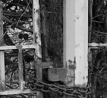 Chained gate by jaoxley