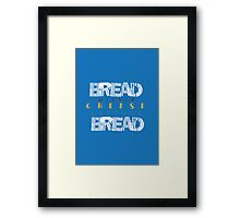 Cheese and Pickle Framed Print
