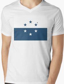 Osean Flag Mens V-Neck T-Shirt