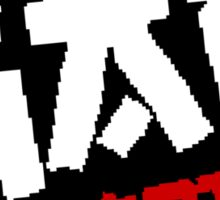 8-Bit GAG Quartet Logo Sticker