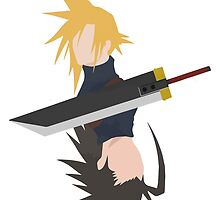 Zack and Cloud by shevil