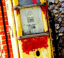 Retro Petrol Pump by davewilkins1979