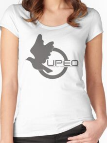 UPEO Logo Women's Fitted Scoop T-Shirt