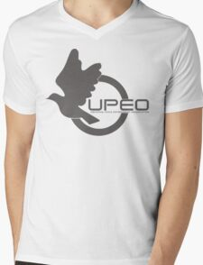 UPEO Logo Mens V-Neck T-Shirt