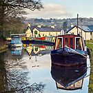 The Monmouthshire and Brecon Canal by Steve  Liptrot