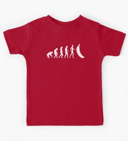 The Evolution of the Banana  Kids Tee