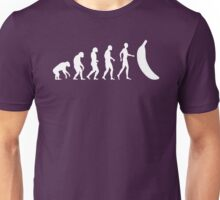The Evolution of the Banana  Unisex T-Shirt