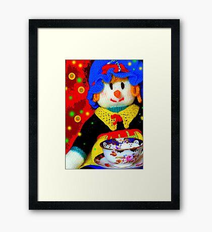 Knitted Dolls Fun 6 Framed Print