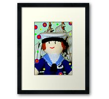 Knitted Dolls Fun 8 Framed Print