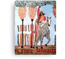 FOOTBALL Florida State Seminoles Canvas Print