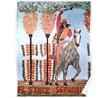FOOTBALL Florida State Seminoles Poster