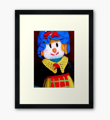Knitted Dolls Fun 9 Framed Print