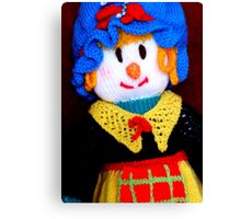 Knitted Dolls Fun 9 Canvas Print