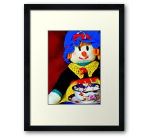 Knitted Dolls Fun 10 Framed Print