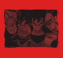 The Saiyans!! by Timmyb0y