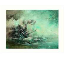 A Prophecy Unheeded Art Print