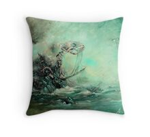 A Prophecy Unheeded Throw Pillow