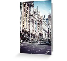 Gran Via Greeting Card