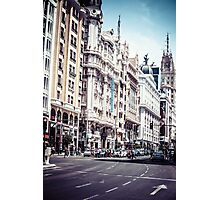 Gran Via Photographic Print