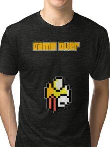 Game Over - Flappy Bird Tri-blend T-Shirt