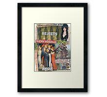 Just Ask Elvira Framed Print