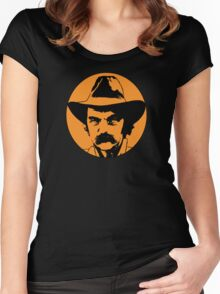Blaze Foley Women's Fitted Scoop T-Shirt