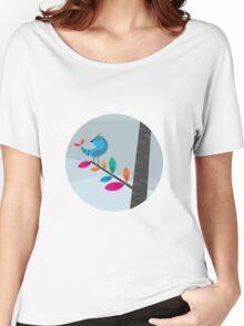 Blue Bird Women's Relaxed Fit T-Shirt