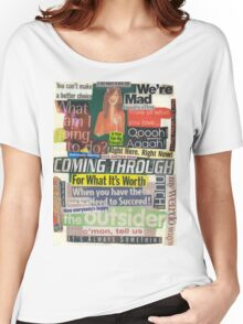 Here, There, and Everywhere Women's Relaxed Fit T-Shirt