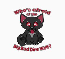 Who's Afraid of the Big Bad Dire Wolf?  Men's Baseball ¾ T-Shirt